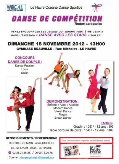 compétition Le Havre le 18 11 2012