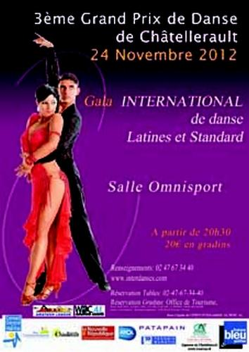 gala international de Châtellerault le 24 11 2012