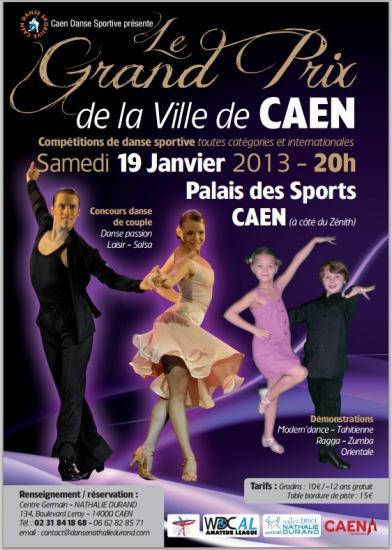 Grand Prix international de Caen le 19 01 2013