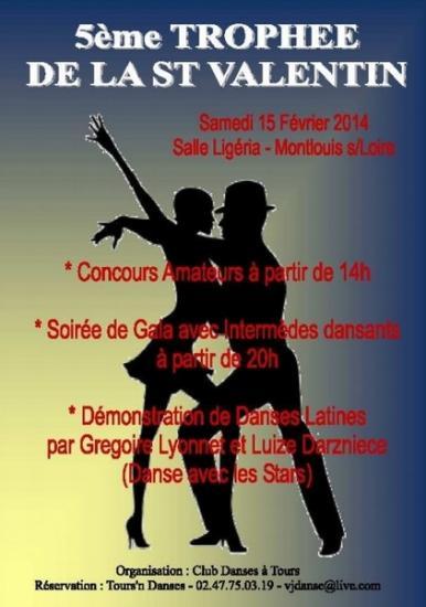 5ème Trophée de la Saint Valentin à Montlouis le 15 février 2014