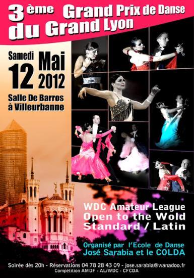 3ème Grand Prix de Lyon le 12 05 2012
