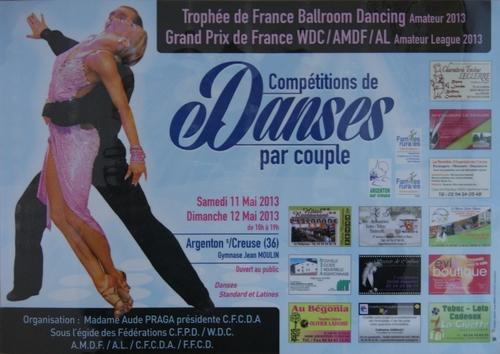affiche Trophée de France 2013