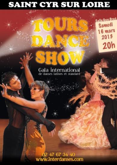 Tours Dance show le 16 mars 2013
