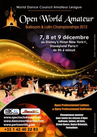 Open Eurodisney les 07 08 et 09 12 2012