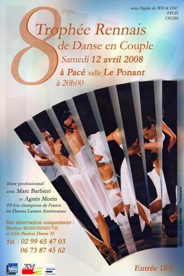 8ème Trophée Rennais le 12 avril 2008