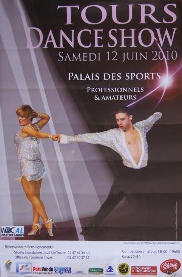 Tours Danse Show le 12 juin 2010