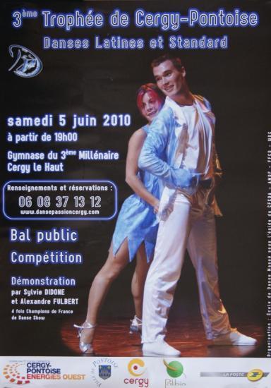 3ème Trophée de Cergy Pontoise le 05 juin 2010