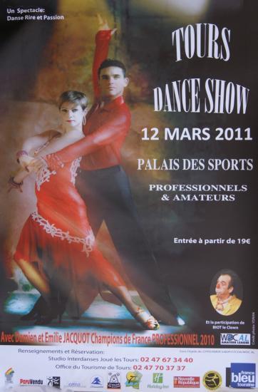 Tours  Danse Show le 12 mars 2011