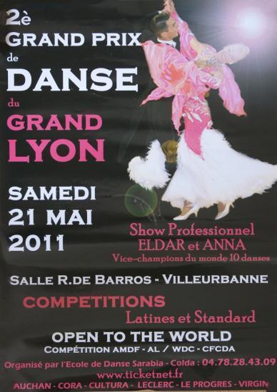 2ème Grand Prix de Lyon 21 mai 2011