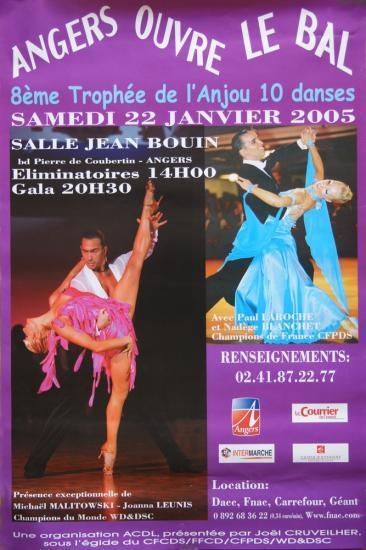 8ème Trophée de l'Anjou le 22 janvier 2005