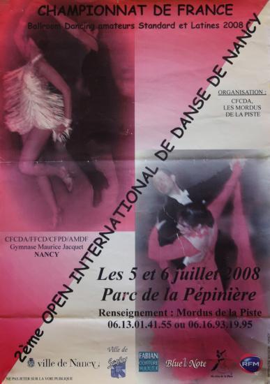 Championnat de France à Nancy les 5 et 6 juillet 2008