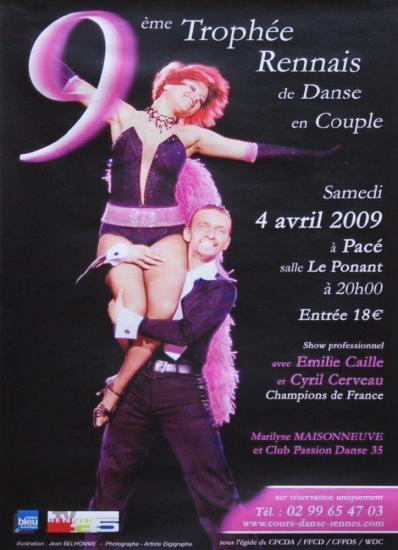 9ème Trophée Rennais le 4 avril 2009
