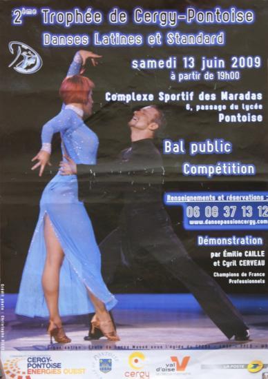 2ème Trophée de Cergy Pontoise le 13 juin 2009
