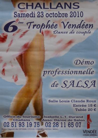 6ème Trophée Vendéen à Challans le 23 octobre 2010
