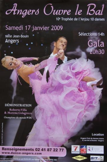 10ème Trophée de l'Anjou à Angers le 17 janvier 2009