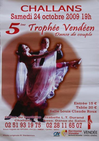 5ème Trophée Vendéen à Challans le 24 octobre 2009