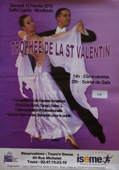 Trophée de la Saint Valentin à Montlouis le 13 février 2010