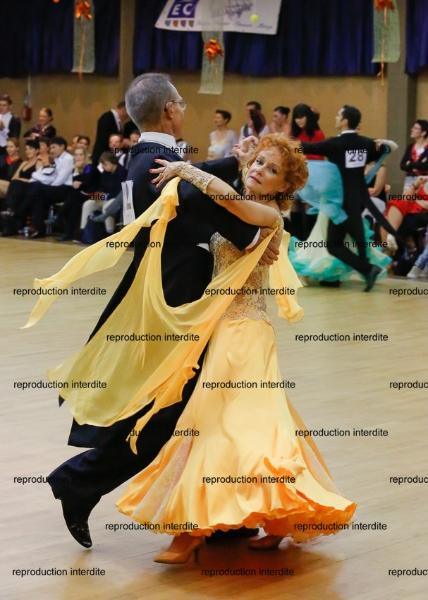 danses standard à Bégrolles