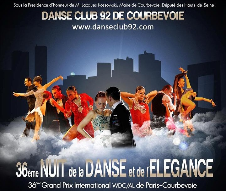 affiche de Courbevoie le 8 février 20014