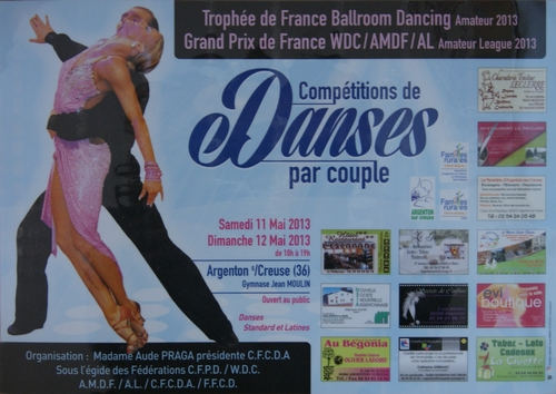 affiche du Trophée de France 2013