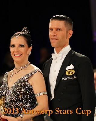 Pierre Payen et Isabelle Reyjal vainqueurs à Blackpool 2013